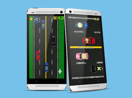 Cars Racing Highway