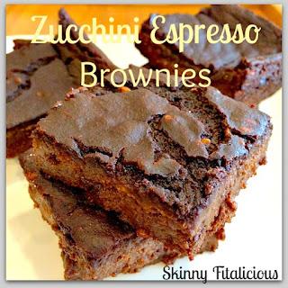 Zucchini Espresso Brownies