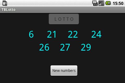 TB Lotto- screenshot