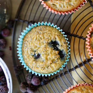 Coconut Blueberry Chia Muffins.