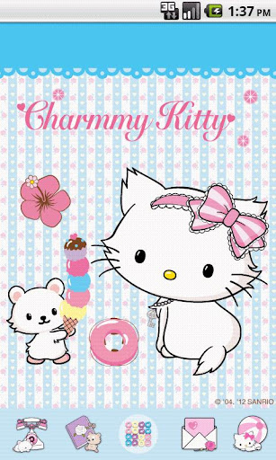 Charmmy Kitty BlueLove Theme