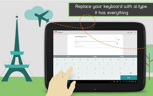 ai.type teclado gratis + Emoji
