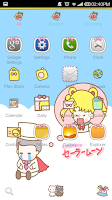 Screenshot of ICON PACK - Bora Girl(Free)
