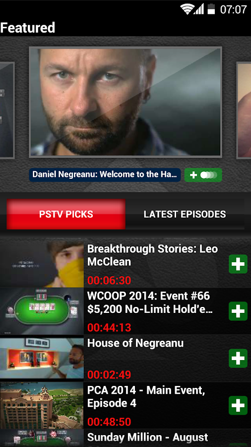 PokerStars TV- screenshot
