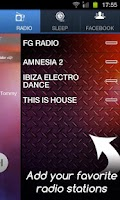 Screenshot of Electronic Radio