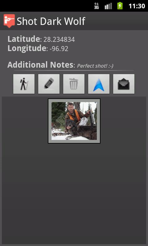 TrackBack- Ultimate Hunter GPS - screenshot