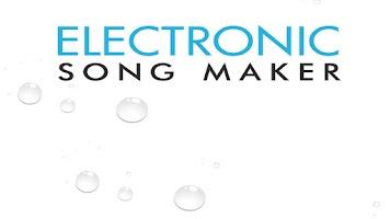 Screenshot of Electronic Song Maker