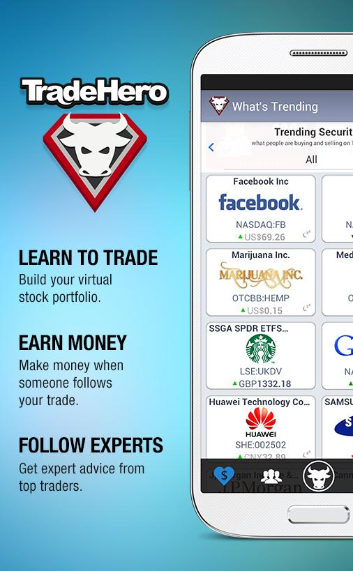 TradeHero Teaches How to Buy Low, Sell High & How to Trade in the Stock Market | Drippler - Apps, Games, News, Updates & Accessories