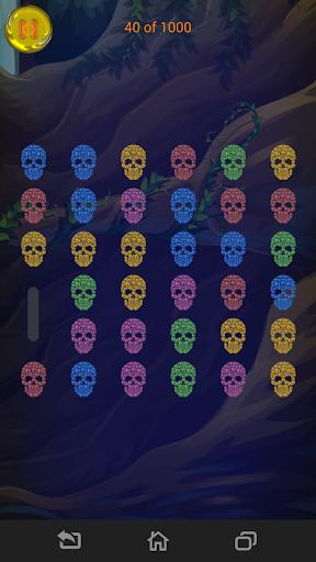 寶石和頭骨匹配3條命