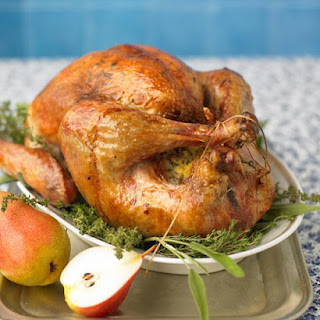 Roast Turkey with Herb Butter.