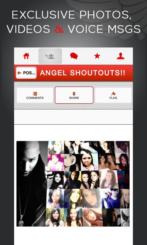 Trey Songz TheAngelNetwork TAN - screenshot