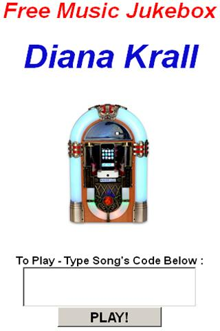 Diana Krall JukeBox - screenshot