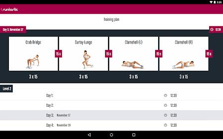 Runtastic Butt Trainer Workout 1.3 screenshot 31821