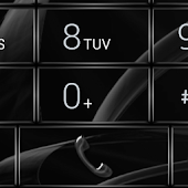 Dialer MetalGate Black theme