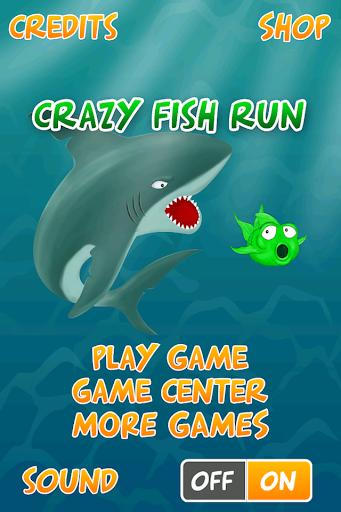 Crazy Fish Run - Shark Escape