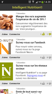 Intelligent Nutrition – Vignette de la capture d'écran