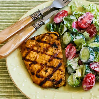 Grilled Halibut with Cumin and Lime.