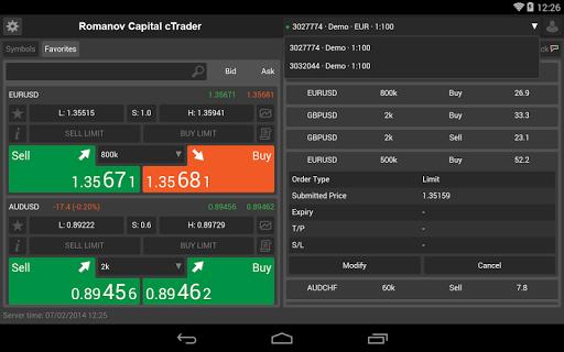 免費下載財經APP|Romanov Capital cTrader app開箱文|APP開箱王