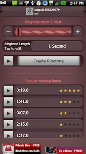 Ultimate Ringtone Maker- screenshot thumbnail