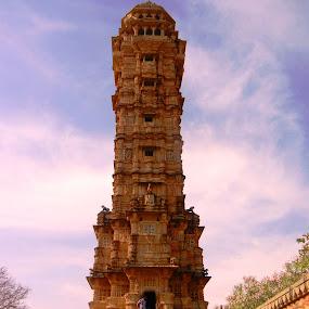 Vijay Sthambh by Vikas Jorwal - Buildings & Architecture Public & Historical ( victory, maharana, rajpoot, rajasthan, royal, chittorgarh, vikas,  )