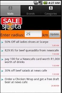 SALEspota- screenshot thumbnail