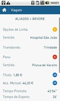 Screenshot of iMetroPorto