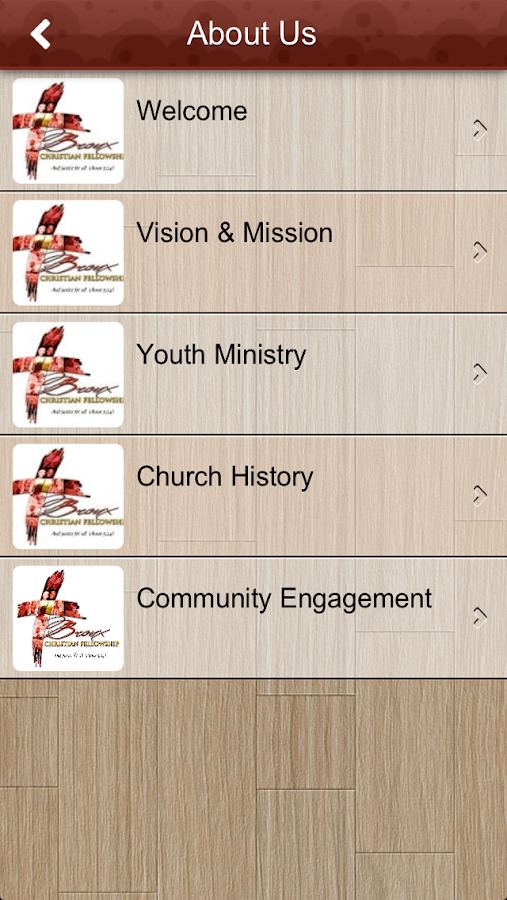 Bronx Christian Fellowship - screenshot