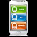 Madrid Metro | Bus | Cercanias logo