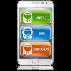 key-Madrid MetroBusCercanias icon