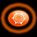 sacral chakra , orange chakras icon