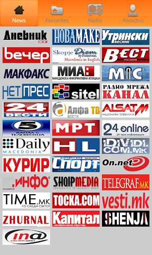 Macedonian Newspapers: весници