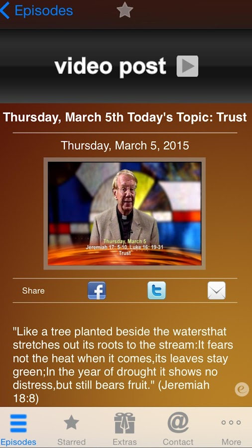 iGod Today – Fr. Mike Manning - screenshot