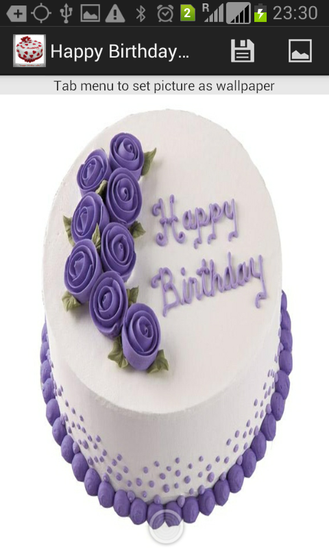 Android Birthday Cake