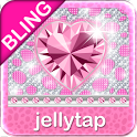 ♦BLING Theme♦ Pink Cheetah SMS icon