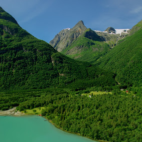 Nesdal, Norway by Trond Braadland - Landscapes Mountains & Hills ( nesdal, lodalen, loen, vestlandet, norway )