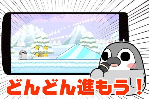 ぺそぎんダッシュ 人気ペンギン横スクロール型アクションゲーム