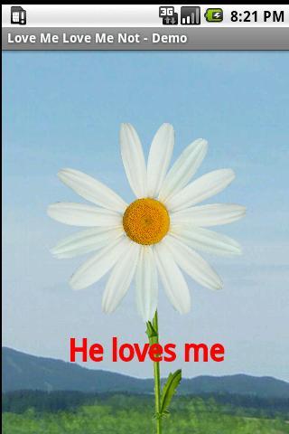LovingMeDemo - screenshot