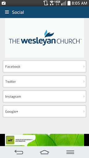 Wesleyan Events