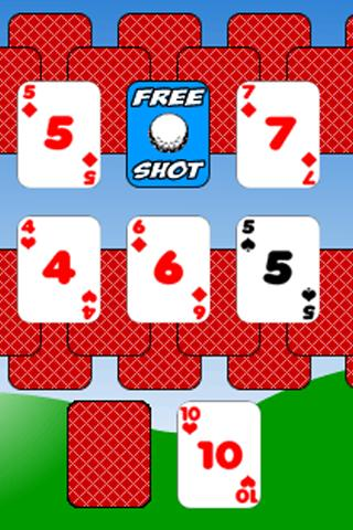 Golf Solitaire - screenshot