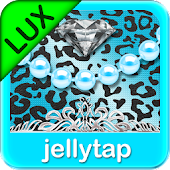 Luxury Theme Teal Leopard SMS★