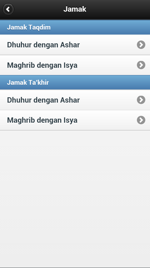 Shalat Jamak Qashar - screenshot