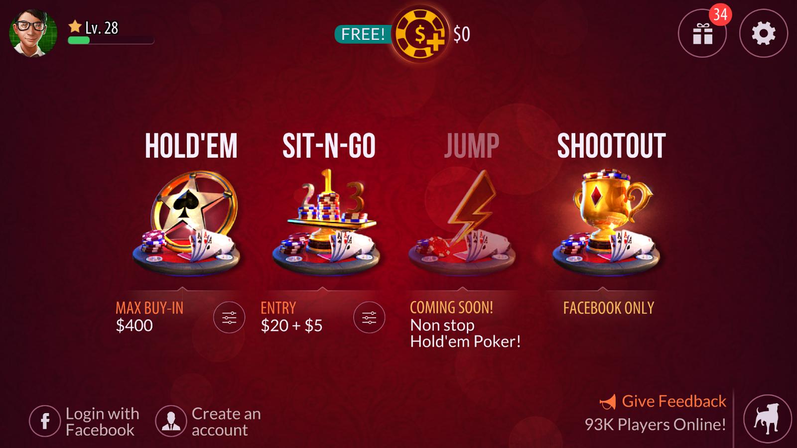 Zynga Poker - Texas Holdem - screenshot