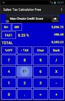 Screenshot of Sales Tax Calculator Free