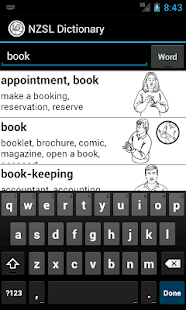 NZSL Dictionary - screenshot thumbnail