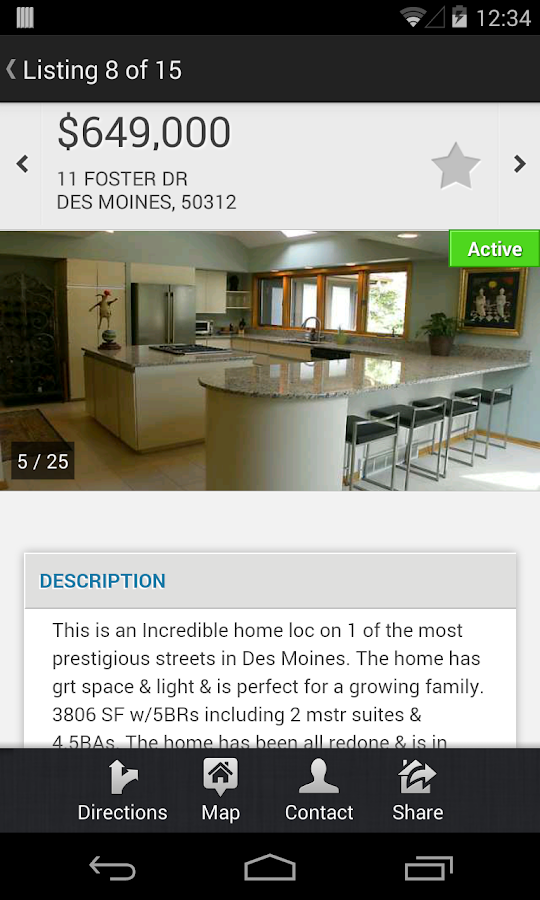 DMAAR Mobile MLS - screenshot
