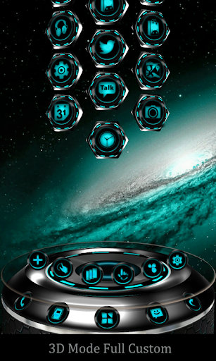 KromiumC Next Launcher Theme