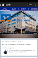 Screenshot of Hannoversche Volksbank eG