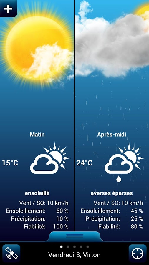 Weather for Belgium Pro - screenshot