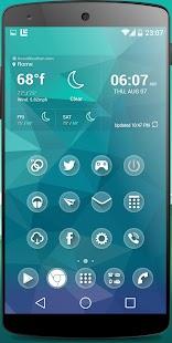one Theme HD icons Pack Glass - screenshot thumbnail
