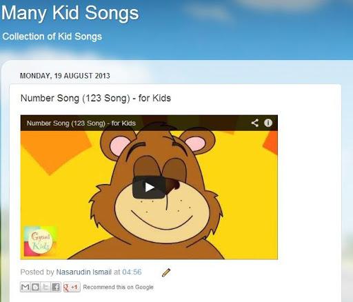 Watch Kid Songs